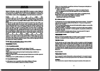 Correction du Diplôme National du Brevet (DNB) juin 2OO4 Groupe Ouest