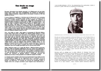 Une étude en rouge : la naissance du mythe de Sherlock Holmes
