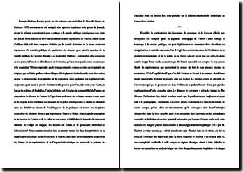 Etude du procès fait à Flaubert et de Madame Bovary en 1857