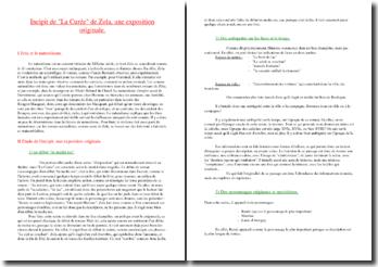 Zola, La Curée : définition du naturalisme