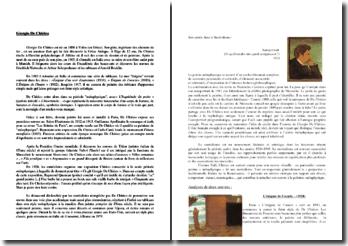 Giorgio De Chirico, biographie du peintre