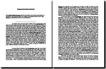 Genet, Les Paravents : citation tirée de l'atelier d'Alberto Giancometti