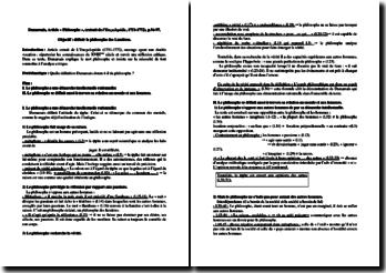Dumarsais, Philosophe, L'Encyclopédie