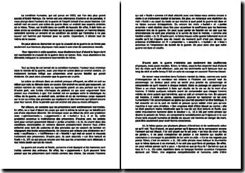 André Malraux, La Condition humaine : la représentation de la guerre
