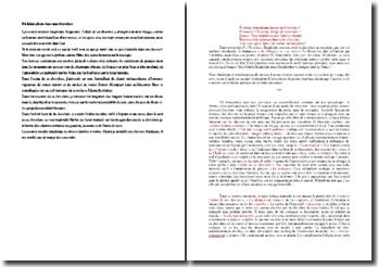 Baudelaire, Un hémisphère dans une chevelure : commentaire