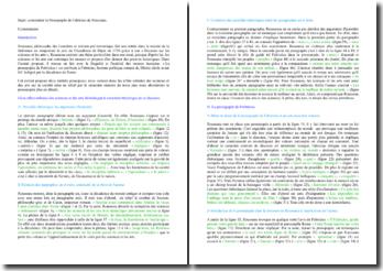 Rousseau, Prosopopée de Fabricius : commentaire de texte