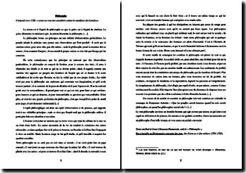 Dumarsais, Article Philosophe : commentaire composé