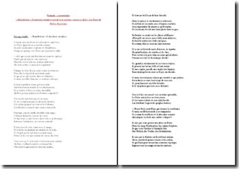 Baudelaire, Les Fleurs du Mal, Bénédiction : étude des 6 dernières strophes