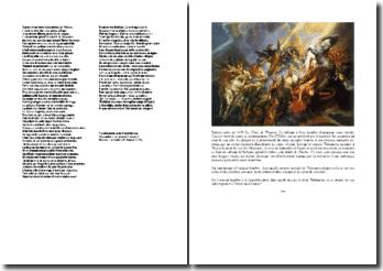 Racine, Phèdre, Théramène annonçant à Thésée la mort de son fils : commentaire composé