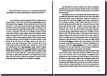 Sophocle, Ajax, Corneille, Horace, Shakespeare, Coriolan et Kleist, Le Prince de Hombourg (littérature comparée)