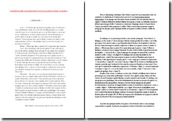 Claudel, Conversations dans le Loir-et-Cher, Dimanche : commentaire composé