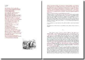 La Fontaine, La besace : entre la tragédie classique et la fable animalière