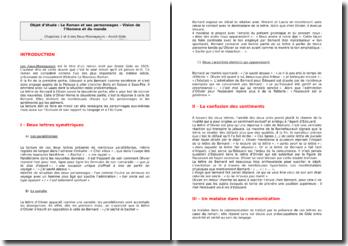 André Gide, Les Faux-Monnayeurs : Deuxième partie, chapitres 1 et 6