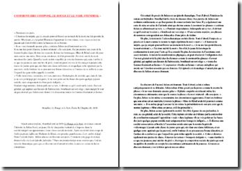 Stendhal, Le Rouge et le Noir, Partie II, Chapitre 41 : discours de Julien