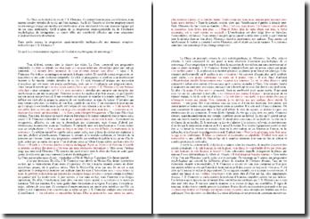 Analyse de la complexité psychologique de Clamence dans La Chute (Camus)