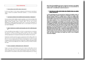 La mobilité sociale et les inégalités sociales (SES - Terminale ES)
