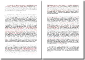 Dissertation : le repas en littérature, un espace de révélation