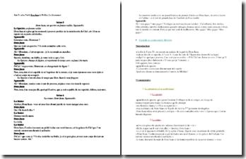 Molière, Dom Juan, Acte V scènes 5 et 6 : le dénouement
