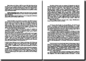 Cendrars, La Prose du transsibérien (extraits du poème) : commentaire composé