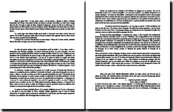 Charles Baudelaire, A une dame créole (commentaire)