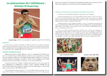 Le phénomène de l'athlétisme : Hicham El Guerrouj