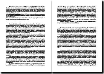 Cendrars, Prose du Transsibérien (commentaire composé)