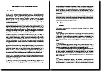 Hugo, Les Misérables, Parties 4 et 5