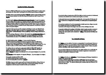 Biographie de Joachim du Bellay