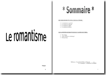Le romantisme : naissance, artistes et oeuvres