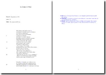La Fontaine, La Lionne et l'Ourse (étude analytique)