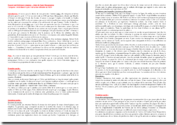 Oral en littérature de jeunesse (CRPE) - S. Morgenstern Prof, Joker