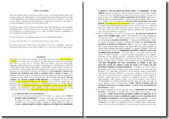 Baudelaire, Les Fenêtres : commentaire composé