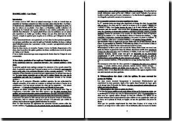 Baudelaire, Les Chats : lecture analytique
