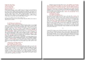 Du Bellay, Regrets, Sonnet XXII : commentaire composé