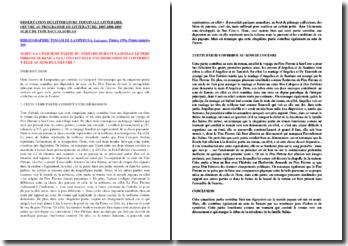 Lampesuda, Le Guépard, 5ème partie : dissertation