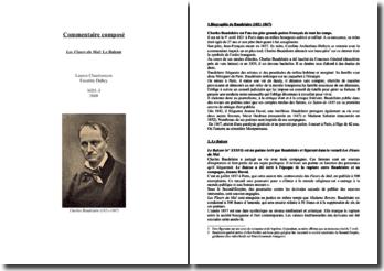 Baudelaire, Les Fleurs du Mal, Le Balcon : commentaire