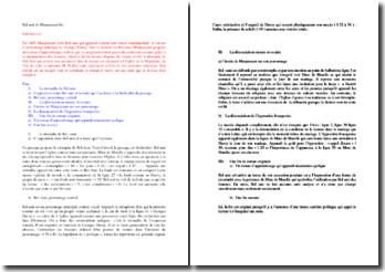 Maupassant, Bel-Ami, Excipit : analyse complète et détaillée
