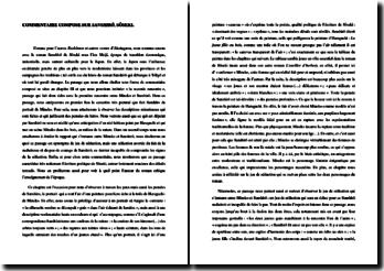 Sôseki, Sanshirô, Chapitre 3 : commentaire