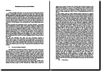 Hervé Guibert, Mes parents : dissertation