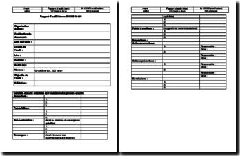 Rapport d'audit interne OHSAS 18001