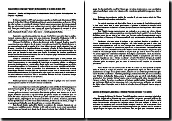 Lampedusa, Le Guépard : L'importance de Bendico et la fonction d'astronome de Don Fabrizio