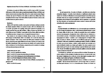 La Fontaine, Le Coche et la Mouche : analyse