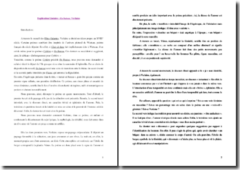 Verlaine, En Bateau, tiré de Les Fêtes Galantes : explication linéaire