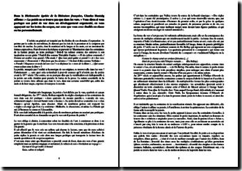 Citation de Charles Dantzig : La poésie ne se trouve pas que dans les vers (dissertation)
