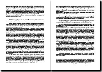 Baudelaire, Une Charogne : dissertation