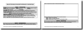Analyse technique des éléments gymniques et acrobatiques : analyse technique du tour d'appui arrière décollé