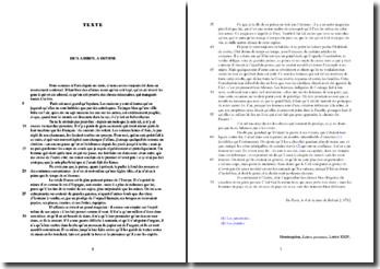 Montesquieu, Lettres persanes, Lettre XXIV : étude analytique