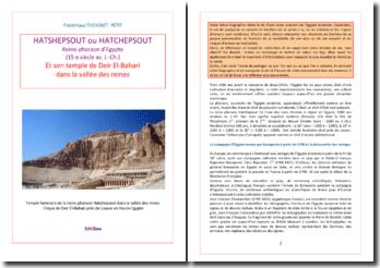 Hatshepsout, reine pharaon et son temple de Deir El-Bahari