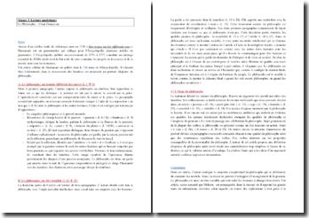 Dumarsais, Philosophe : lecture analytique