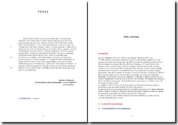 La Bruyère, Caractères, De la Société et de la Conversation, Arrias : analyse